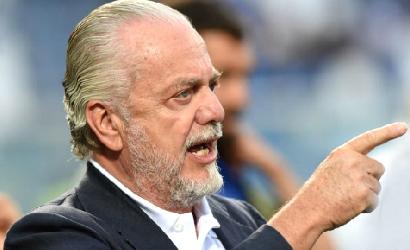 Il presidente del Napoli, ieri sera, assente allo stadio di Trento: timore di una contestazione?