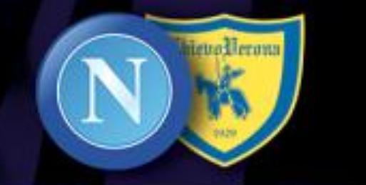 Napoli-Chievo, le formazioni ufficiali