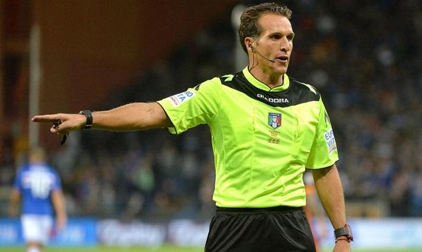 Banti di Livorno il fischietto di Napoli vs Lazio