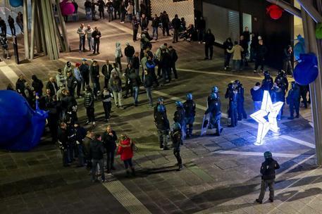 Fiumicino, scontro sfiorato tra tifosi del Napoli e della Roma