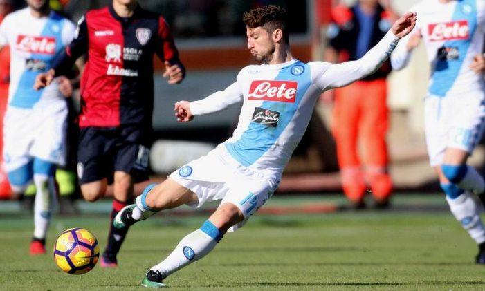 Napoli-Torino, gol meraviglioso di Dries Mertens
