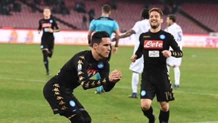 LA PARTITA – Napoli-Fiorentina 1-0, azzurri in semifinale di Coppa Italia