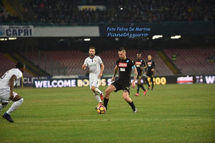 PHOTO GALLERY: 24-1-2017 Napoli vs Fiorentina
