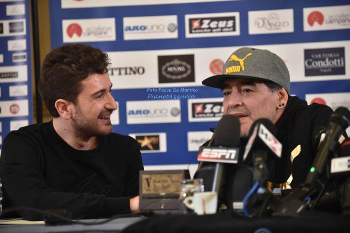 PHOTO GALLERY: Conferenza stampa evento Maradona
