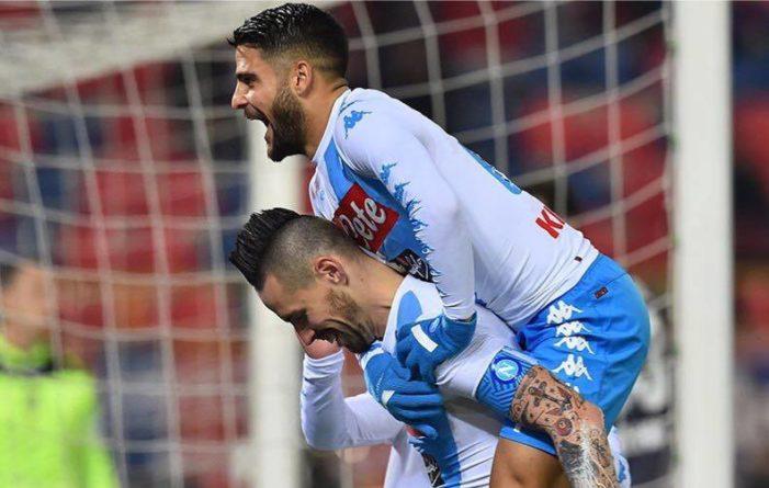 LA PARTITA – Bologna-Napoli 1-7, azzurri super al Dall'Ara