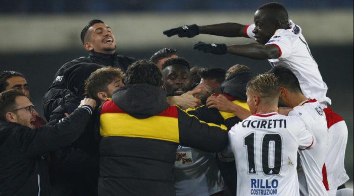 Serie B, il punto della 24^ giornata: 2-2 tra Verona e Benevento. Il Frosinone supera il Latina e va a -1 dalla vetta
