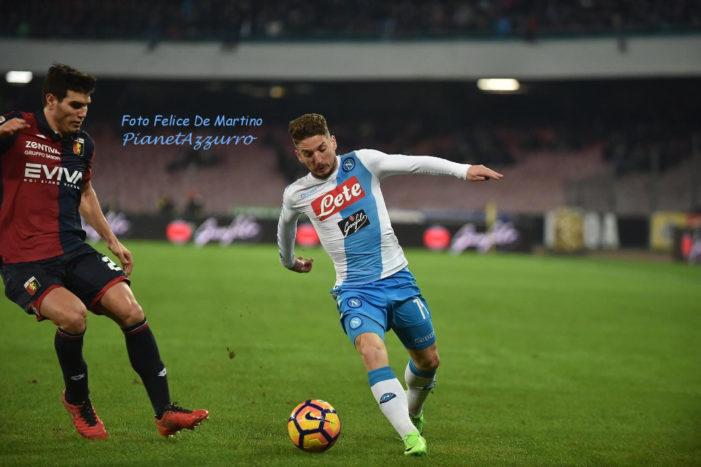 LA PARTITA – Napoli-Genoa 2-0, a segno Zielinski e Giaccherini