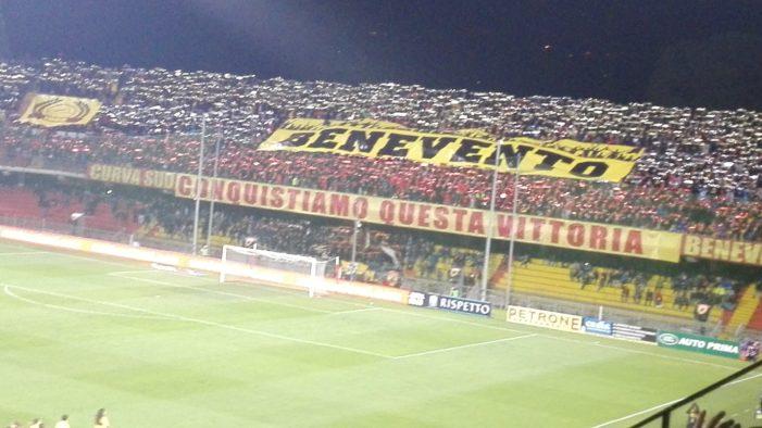 Gara da infarto al 'Ciro Vigorito': il Bari supera il Benevento 4-3