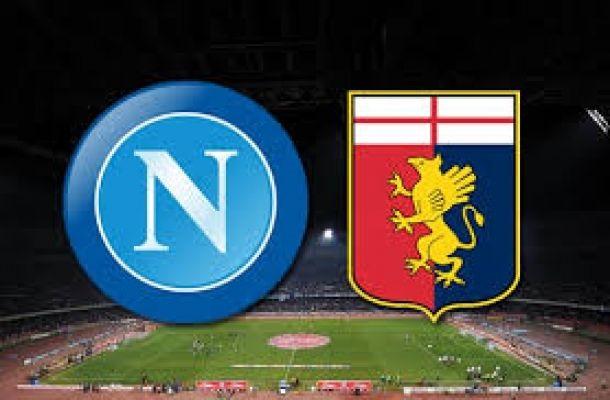 Anteprima partita Napoli vs Genoa