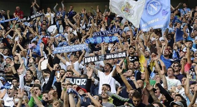 I tifosi azzurri pronti ad organizzare una coreografia speciale per il Real Madrid
