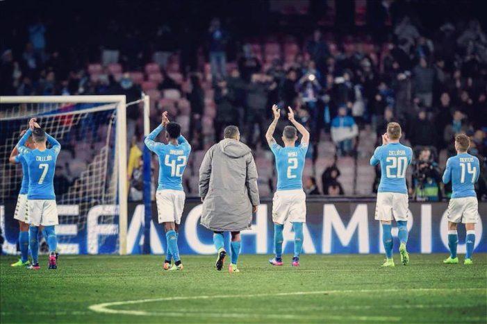 Napoli-Real Madrid: la vittoria di un popolo e l'onore alla squadra e a Sarri. Adesso si riparta dal campionato e dalla coppa Italia