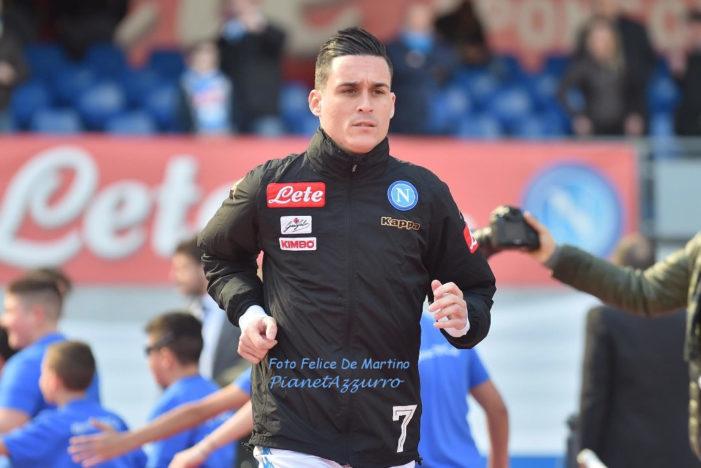 Callejon: Napoli da scudetto e Reina non si tocca, è un leader