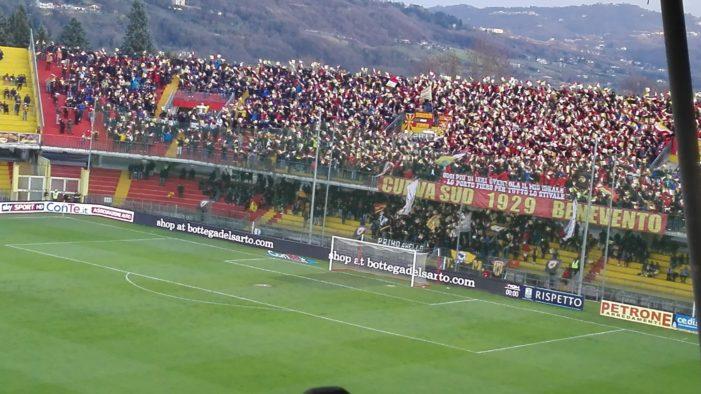 Termina 1-1 il derby del 'Vigorito' tra Benevento e Salernitana
