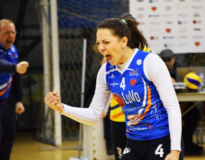 PALLAVOLO – Luvo Barattoli Arzano in casa del Volley Group Roma