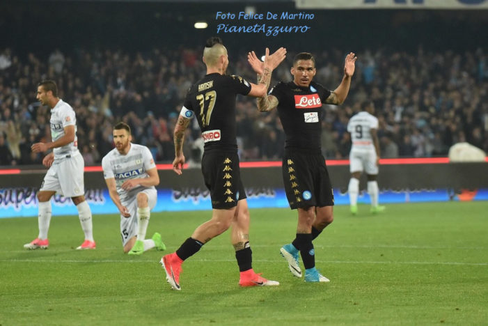 PHOTO GALLERY: 15-4-2017 Napoli vs Udinese