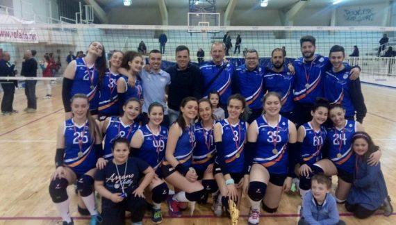 PALLAVOLO – Final Four U14 maschile e femminile: Trionfano Elisa Volley e Arzano
