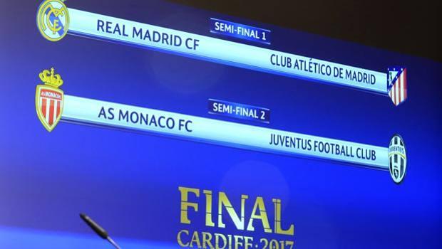 Champions: derby spagnolo e bianconeri contro i monegaschi le due semifinali
