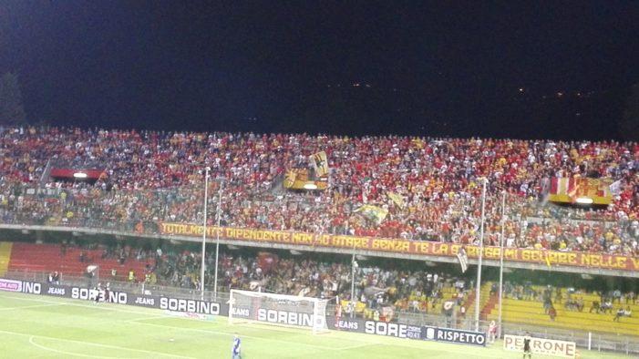 Benevento-Perugia 1-0: Chibsah decide l'andata della semifinale dei play off di serie B