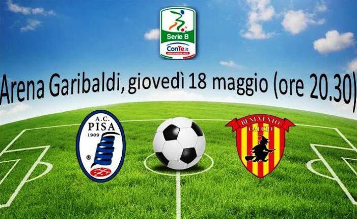 Pisa-Benevento 0-3: tris di Puscas, Falco e Ceravolo. Stregoni ai play-off