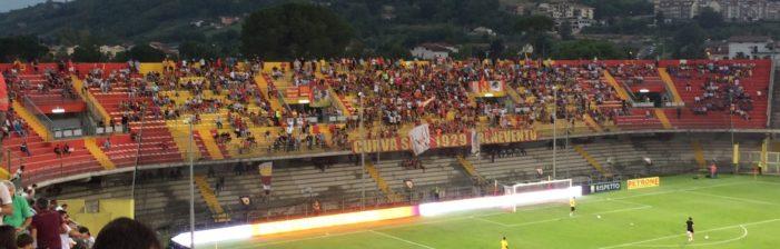 Benevento-Spezia: accolta la richiesta di aumento della capienza del Ciro Vigorito