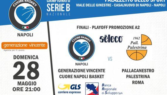Pre-partita Napoli-Palestrina Gara 1