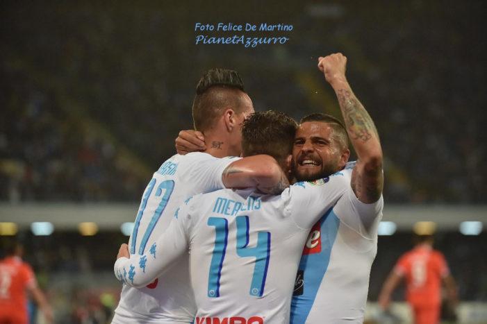 Serie A 2017/2018: il Napoli si fa avanti, la quota scudetto scende già a 5,00
