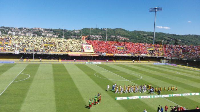 Benevento-Frosinone 2-1: Ceravolo fa esplodere il 'Ciro Vigorito'