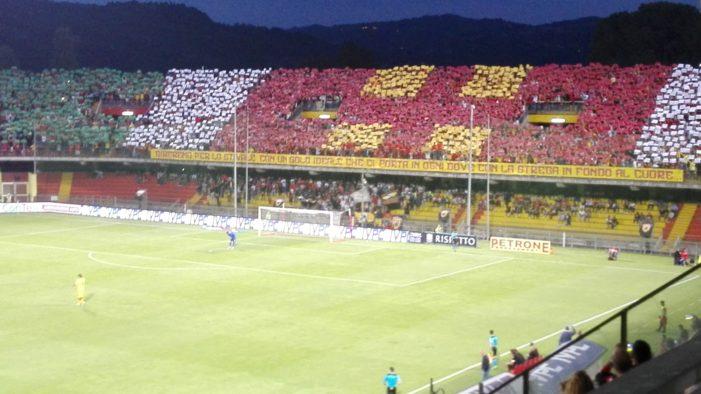 Play off serie B: Benevento-Spezia 2-1. Stregoni in semifinale