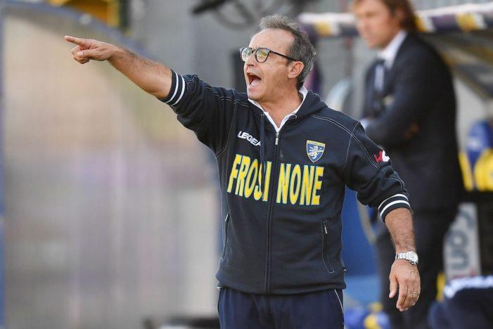 Frosinone, risolto il contratto di Marino: ora è caccia al nuovo allenatore