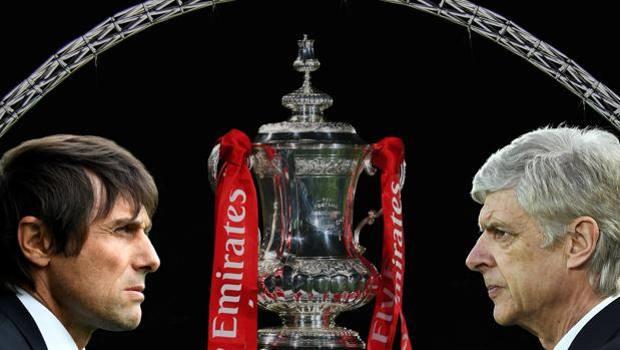 """FA Cup: c'è la finale Arsenal-Chelsea. Conte vuole il """"double"""" come Ancelotti"""
