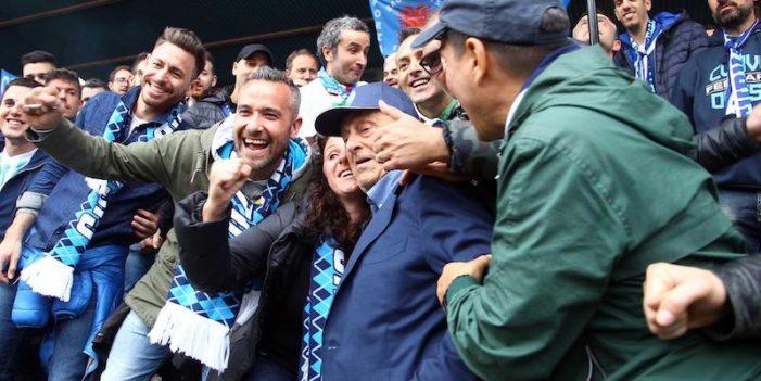 Serie B, 41^ giornata: Ceravolo castiga il Frosinone. La Spal torna in A dopo 49 anni