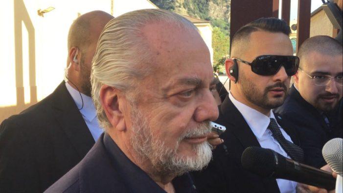 Napoli, De Laurentiis spietato: pronto un altro regalo per Sarri? Video