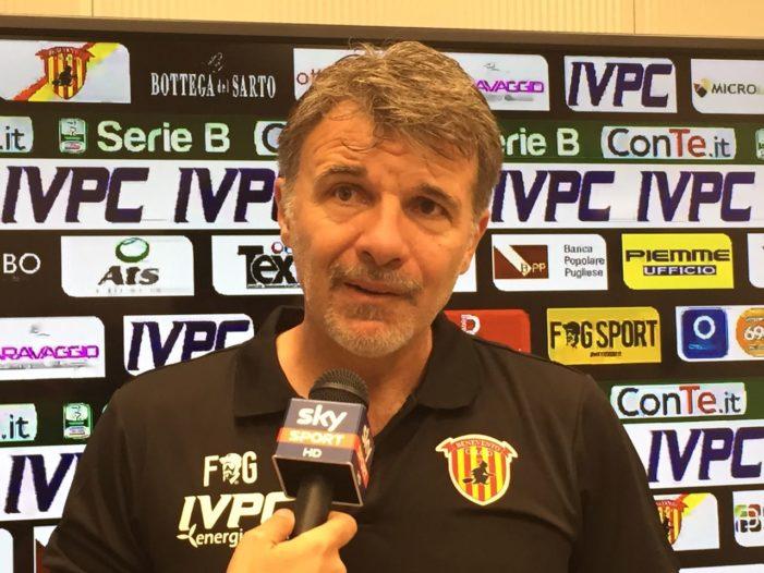 """Benevento, Baroni: """"Dobbiamo giocare per vincere, accontentarci sarebbe un errore grandissimo"""""""