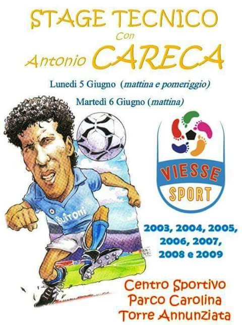 Stage tecnico con Antonio Careca