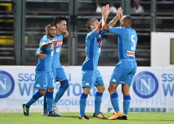 LA PARTITA – Napoli-Carpi 4-1, doppietta di Milik e gol di Callejon e Ounas