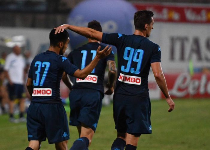LA PARTITA – Napoli-Chievo 1-1, gli azzurri non vanno oltre il pareggio, a segno ancora Ounas