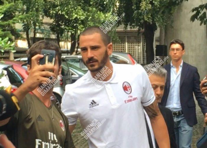 Calciomercato | Milan, concluse le visite mediche di Bonucci