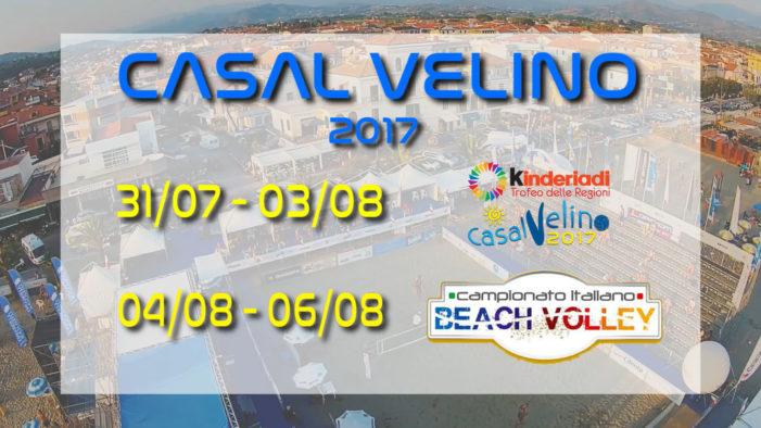 BEACH VOLLEY: TDR e Campionato Italiano  Casal Velino capitale del beach volley