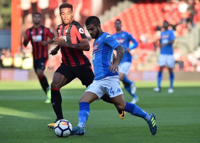 LA PARTITA – Bournemouth-Napoli 2-2, pari degli azzurri in Inghilterra