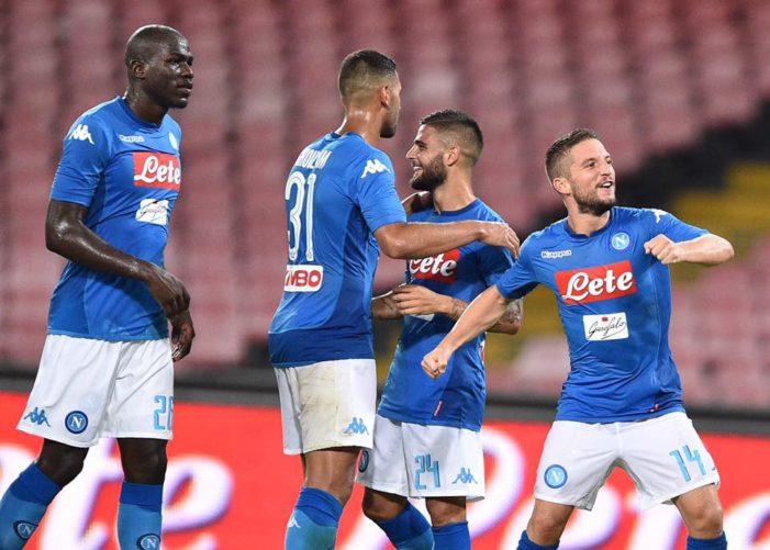 La Prefettura di Napoli : divieto per i tifosi francesi