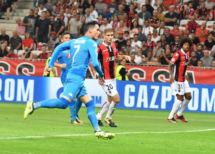 LA PARTITA – Nizza-Napoli 0-2, azzurri qualificati alla fase a gironi di Champions League