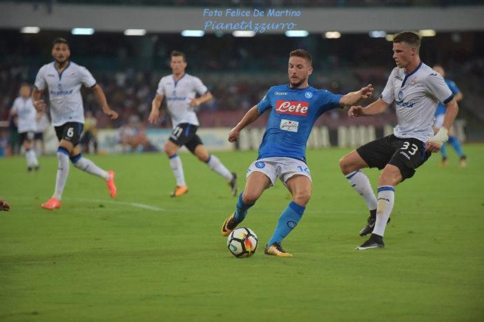 LA PARTITA – Napoli-Atalanta 1-2, azzurri eliminati dalla Coppa Italia
