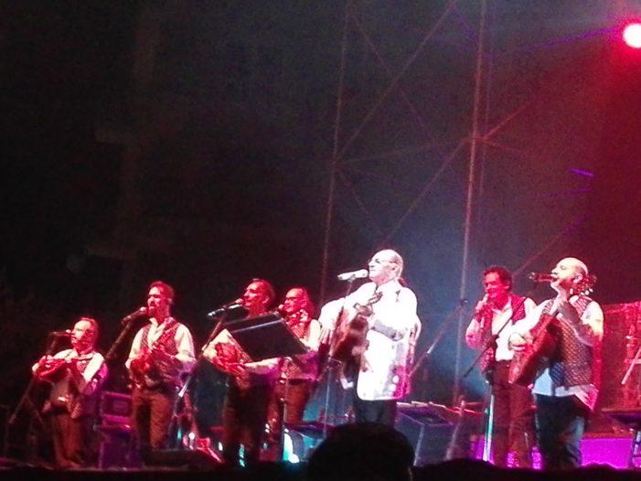 Spettacolo a Benevento con Arbore e la sua Orchestra Italiana
