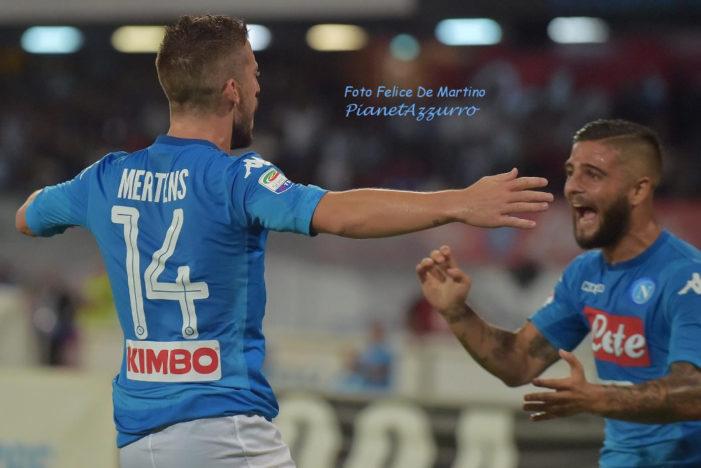 LA PARTITA – Napoli-Feyenoord 3-1, tris azzurro con Insigne, Mertens e Callejon