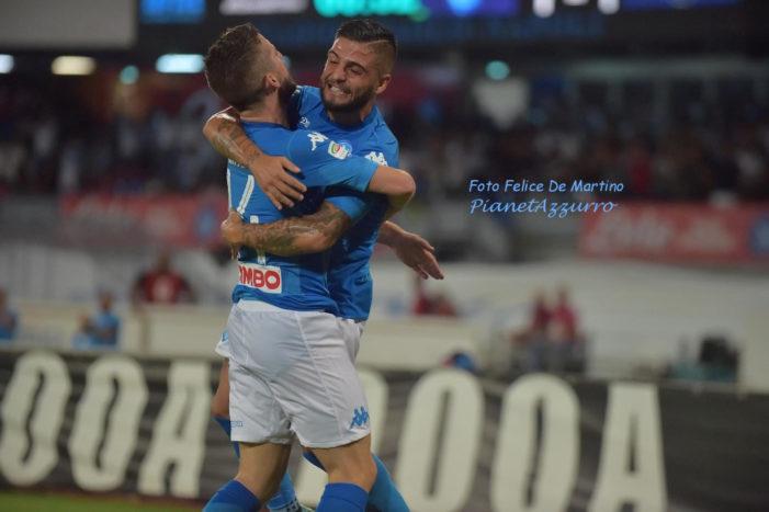 SCOMMESSE –Champions: Napoli grande d'Europa