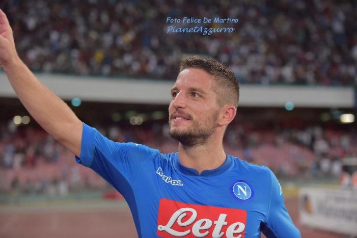 """Mertens: """"Vivere a Napoli è bello. Nonostante i gol realizzati lo scorso anno, io resto quello di sempre"""""""