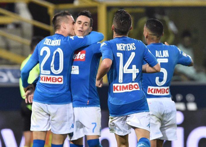LA PARTITA – Bologna-Napoli 0-3, gli azzurri ne fanno tre in venti minuti