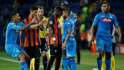 LA PARTITA – Shakhtar-Napoli 2-1