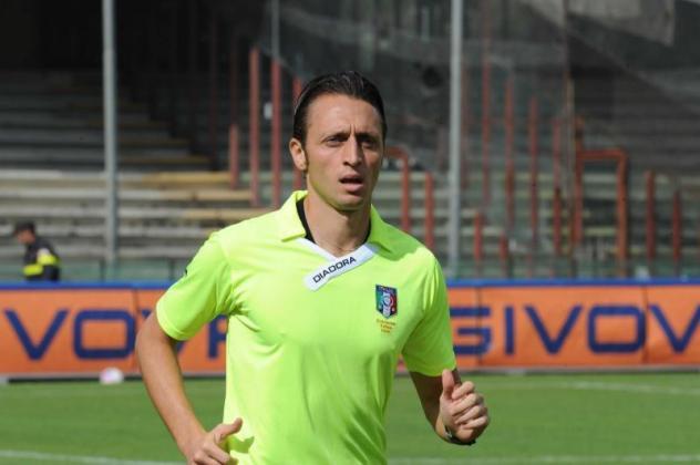 Il fischietto di.Napoli vs Verona