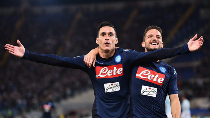 Goal Mertens, prodezza incredibile dell'attaccante del Napoli: che fenomeno!